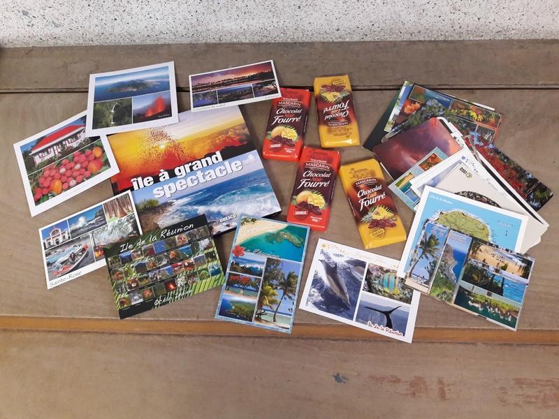 Les cartes que nous avons reçues