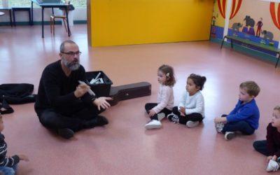 Eveil musical avec Laurent