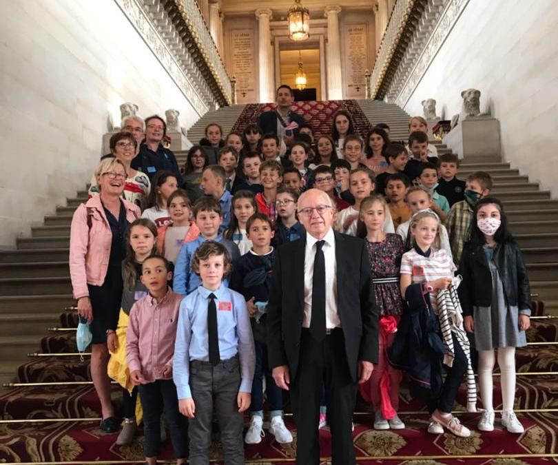 Visite au Sénat