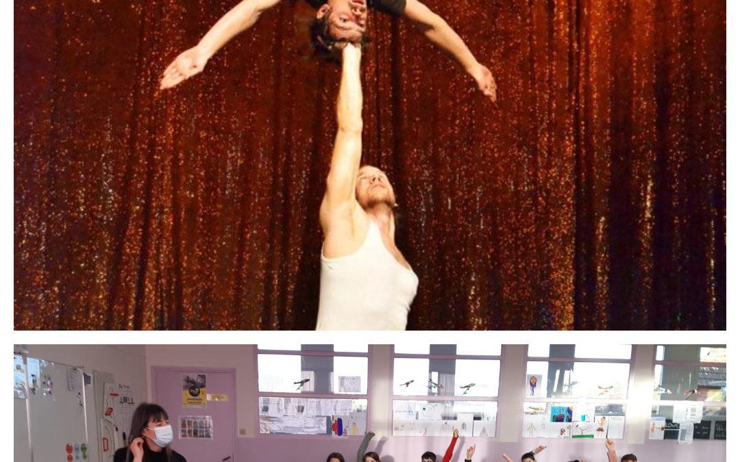 Quand le cirque se déplace dans les classes